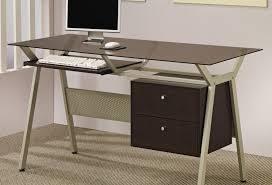 amin writing table tags black writing desk stand up desks grey in glass top desk target
