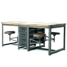 industrial style office desk modern industrial desk. Perfect Industrial Modern Industrial Office Furniture Desk Style  Best Element Decoration Lovable  On S