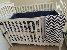 dwell baby furniture. Navy Blue Baby Bedding   Dwell Chevron Custom Set By Babylovin Furniture F