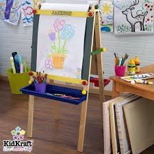 full image for kidkraft avalon writing desk with hutch and chair 87 superb personalized artist easel
