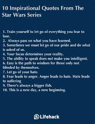 Star Wars Love Quotes Inspiration 48 Inspirational Quotes From The Star Wars Series Sayings