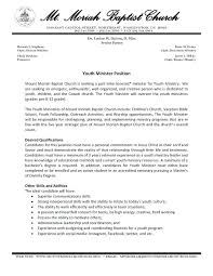 Lead Pastor Resume Samples Youth Ministry Resume Samples Pastor Inspiration Ministry Resume