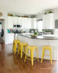 diy painted kitchen cabinets she used a no prep no priming method