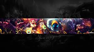 Speed Art Free Youtube Channel Art Banner 10 League Of Legends