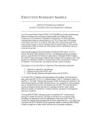 executive summery 30 perfect executive summary examples templates template lab