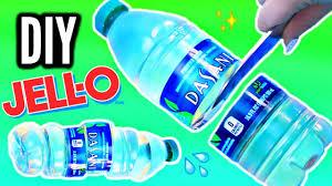 Diy Water Bottle Diy Gummy Water Bottle Crystal Clear Jelly Bottle Youtube