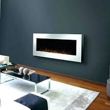wall mounted electric fireplace design ideas outside