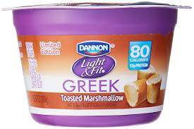 Dannon Light And Fit Limited Edition Dannon Light Fit Seasonal Greek Yogurt 5 3 Oz Amazon Com
