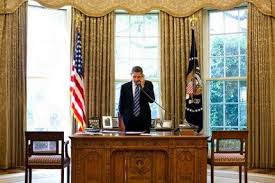 obama oval office. among the changes in dcor to obama oval office one of them was not e