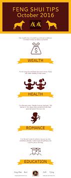 infographic feng shui. Feng Shui Tips \u2013 October 2016 Infographic N