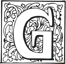 Letter G Coloring Pages Free Coloring Pages