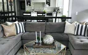 dark grey couch ideas diagonal color small blue contemporary room set beige gray rug t sofa