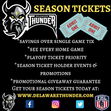 Delaware Thunder Season Tickets On Sale Now Federal