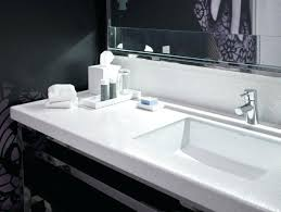 solid surface bathroom countertops white solid surface