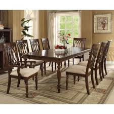 8 person dining table. Acme Furniture Farrel 9 Piece Rectangular Dining Table Set 8 Person O