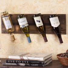 hanging european style wine rack wall