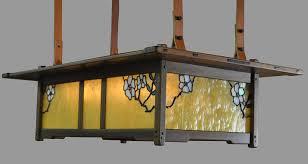 arts and crafts wood lighting greene and greene style lighting