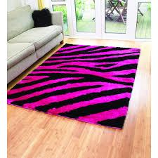 profitable hot pink area rug kids girls for bedroom playroom girl room modern chevron