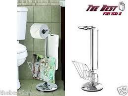 Chrome Toilet Paper Holder Magazine Rack Chrome Toilet Paper Holder Stand Vintage Toilet Paper Holder Stand 6