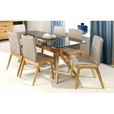 glass top oak dining table glass top oak dining table dining tables glass top oak dining