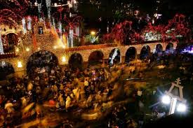 RIVERSIDE: Timeline history of Mission Inn, Festival of Lights ...