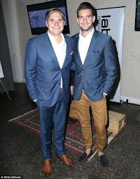 looking good my kitchen rules champions will stewart and steve flood were spotted checking out