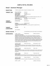 Crafting A Great Assistant Store Manager Resume Job Description