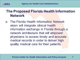 Florida - Policy Agency Analysis Network Promoting The Download Telehealth For Center Administration And Ppt Health Care Information