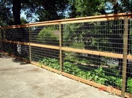 15 best Fence images on Pinterest Hog wire fence Dog fence and