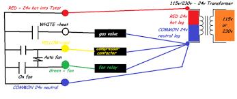 gas furnace wiring diagrams wiring diagram thermostat wiring diagram gas furnace image