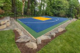 backyard ideas basketball court. backyard basketball court ideas u2013 stencils layouts u0026 dimensions n