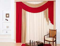Cosy Red Curtains For Bedroom  Bedroom IdeasRed Curtain Ideas For Living Room