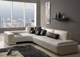 Beautiful White Modern Couches And S With Contemporary Sectional Innovation Design