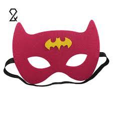 Mask Decorating Supplies Cute Mini Cartoon Polyester Masquerade Party Masks Kids Children 19