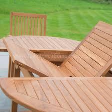 classic extendable dining set six seat teak garden furniture table sets under