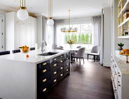 Kitchen Design Westchester Ny Enchanting Make Your Kitchen Glow With These 48 Metallic Details By Design