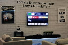 sony tv android. like most recent sony bravia tvs, they run the android tv operating system. this tv t