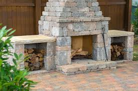 home depot outdoor fireplace kits designs