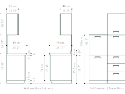 Standard Kitchen Cabinet Sizes Cm Kiendo Info