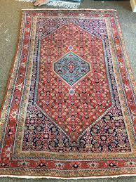 area rug inspection