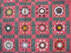 VARIABLE STARS ANTIQUE QUILT | Pieced quilts | Pinterest ... & Marie Miller Antique Quilts ~ Variable Star Adamdwight.com