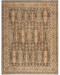 a gray taupe and gold rug carpet available through david e adler oriental