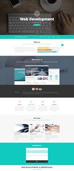 Latest Website Design Templates Web Design And Advertising Website Template Zemez Html
