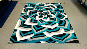 black and grey area rugs bedroom turquoise and grey area rugs in teal intended for teal