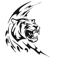 Dessin Colorier Tigre Blanc Imprimer