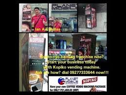 Kopiko Vending Machine Custom PLANET MOBILE BUSINESS CLUB The 48st In Network Marketing Industry