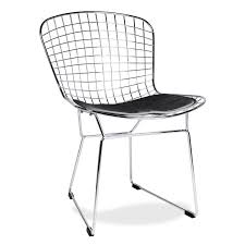 wire bertoia chair