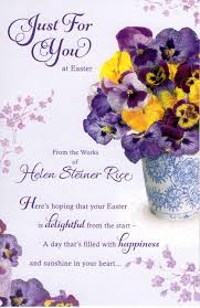 details about helen steiner rice just for you easter greeting card greetings cards