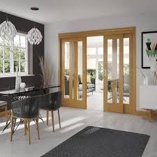 internal oak easi slide frame