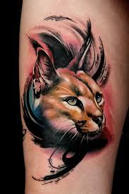 Caracal By Artist Mik Lepcha Tattoos татуировка животное тату и